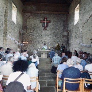 People in the chapel